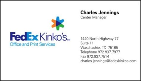 kinkos business cards in store image collections card
