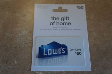 Lowes Gift Cards List - 50 00 lowes gift card fundraiser for we are ethanstrong k bid