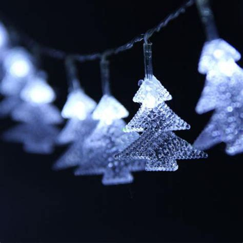 Buy Tree Shaped Led White Light Christmas String Fairy Light String Tree