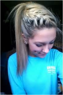 easy and cute hairstyles for middle school images