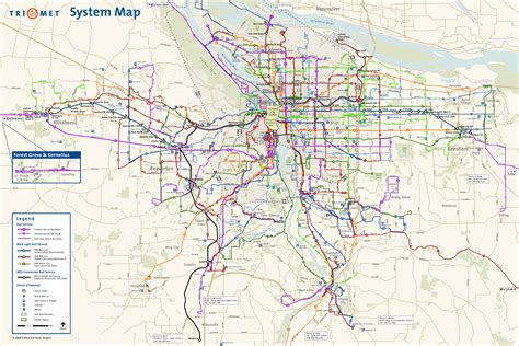 map of portland portland metro area images