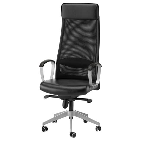 sedia pc ikea markus swivel chair glose black ikea