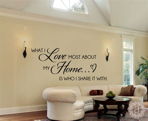 home decor wall decals family wall decals home quote wall decal by