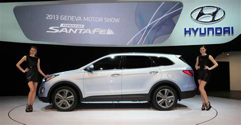 Hyundai Motor by 2013geneva Motor Show New Grand Santa Fe Hyundai Motor