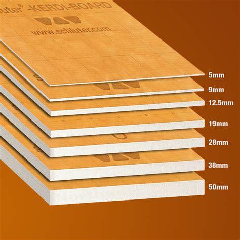 schluter kerdi board 62 5cm x 125cm buy schluter kerdi