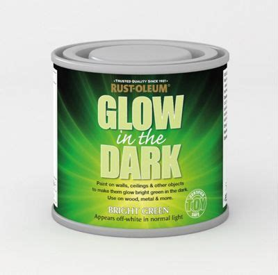 glow in the paint child safe rust oleum glow in the green brush on safe paint