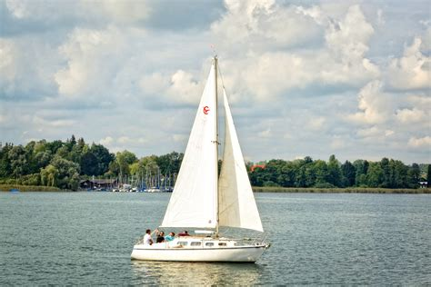 sailboat on lake free images sea nature sport lake summer boot