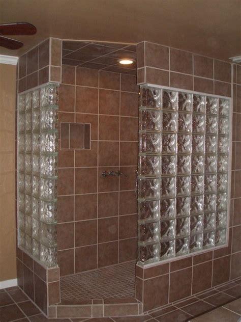 Glass block bathroom bathroom other metro by lone star