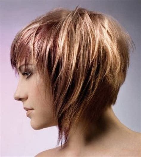wedge with choppy layers hairstyle layered wedge haircut
