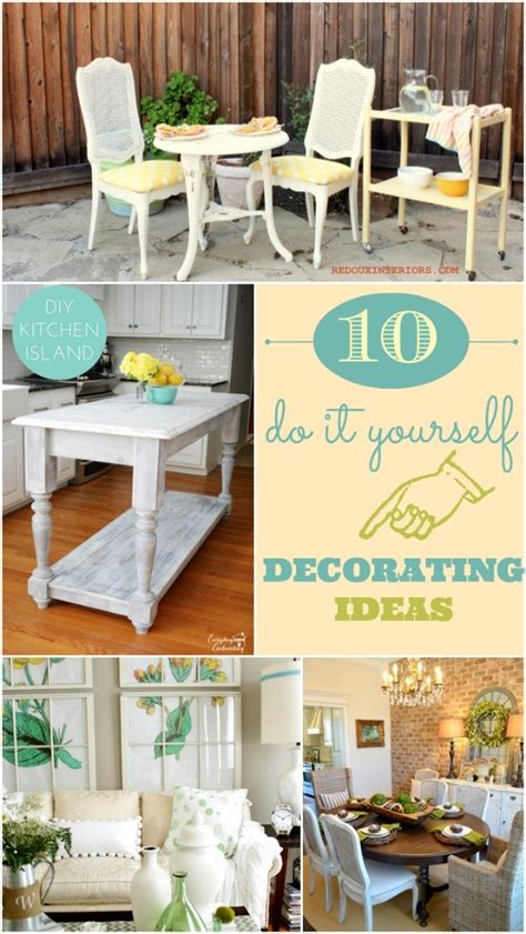 do it yourself decoration 10 do it yourself decorating ideas home stories a to z