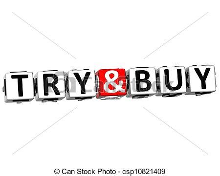 Click And Buy Click And Buy by 3d Try And Buy Button Click Here Block Text White