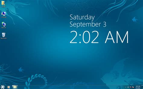 clock themes for pc windows 7 windows 8 clock for xp vista 7 by sanjeev18 on deviantart