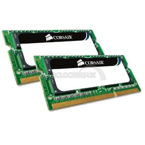 Memory Laptop Ddr2 Corsair corsair 8gb 2x4gb ddr2 800mhz value select ocuk