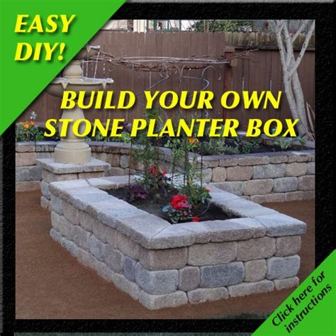 build your own planter box woodworking projects