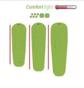 sea to summit comfort light insulated pad matelas comfort light insultaed sea to summit isol 233