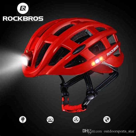mountain bike helmet light discount rockbros cycling helmet bike ultralight helmet