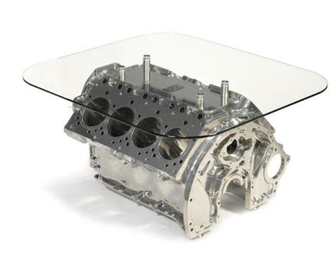 engine block coffee tables rolls royce 6 75 v8 engine cylinder block coffee table