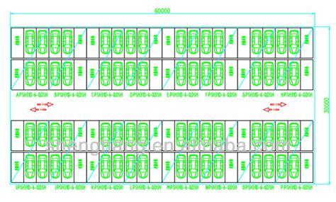 land layout crossword garage parking devices valet hydraulic parking vertical