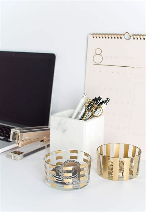desk organizers and accessories best 25 gold desk accessories ideas on pinterest gold