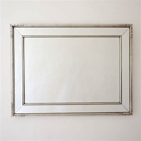 silver wall mirrors decorative framed silver mirror by decorative mirrors