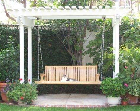 swing with pergola pergola with swing gardening outdoor space ideas pinterest