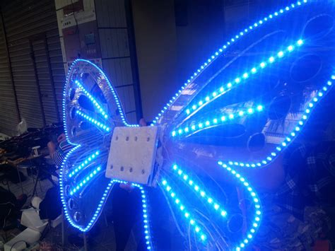 Wings Low Led 1 special led light wings luminous stage costume props butterfly wings led
