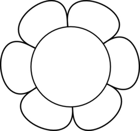 flowers line drawing images clipart best simple flower clipart black and white free download best