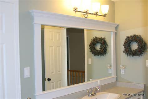 full  great ideas framing  builder grade mirror