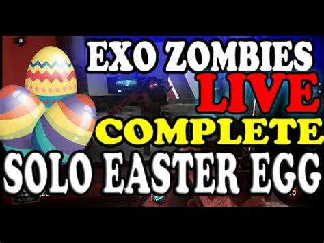 exo zombies easter egg advanced warfare quot live quot quot exo zombies quot full easter egg