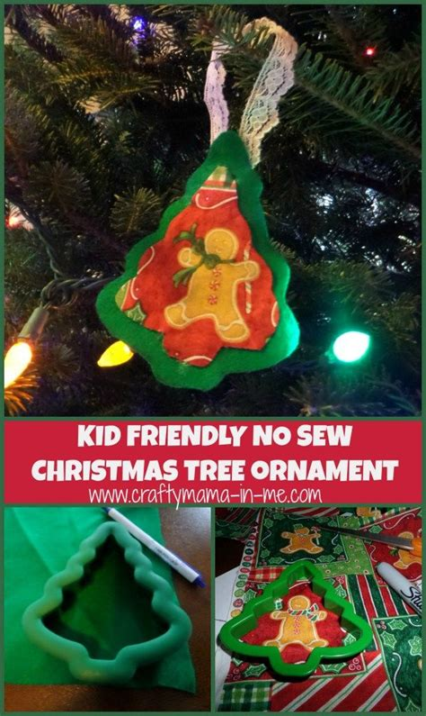 no christmas tree this year kid friendly no sew tree ornament trees traditional and ornaments