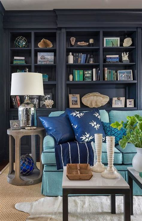 morning sky blue benjamin moore paint wallpaper etc pinterest home colors and benjamin navy den built in shelves cottage den library office