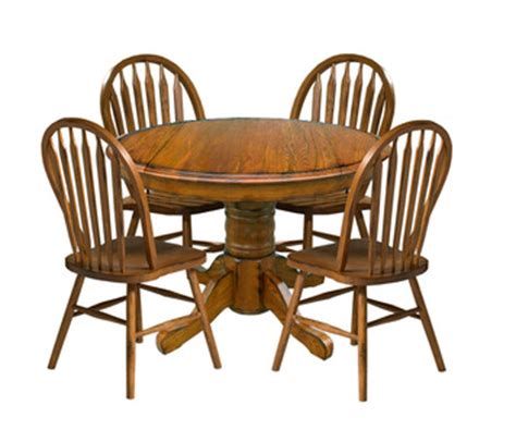 drop leaf dining set classic mission style dining room classic oak 42 quot round drop leaf pedestal dining table