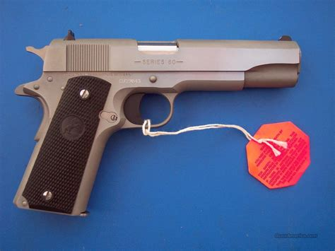 1991 colt government 45acp stainless colt 1991a1 stainless 45 acp government new