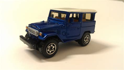 Matchbox Toyota Land Cruiser Fj40 Ungu Purple 1968 toyota land cruiser fj40 matchbox cars wiki