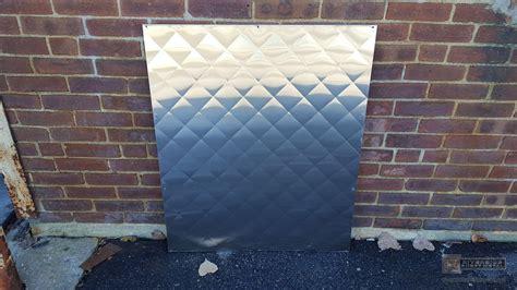 quilted metal backsplash quilted pattern quilted stainless steel backsplash
