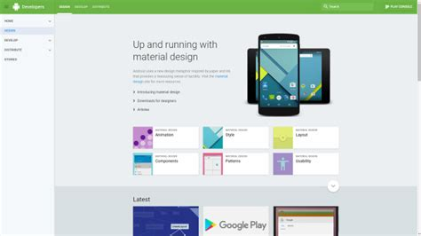 android app layout guidelines 5 great websites for mobile app design inspiration