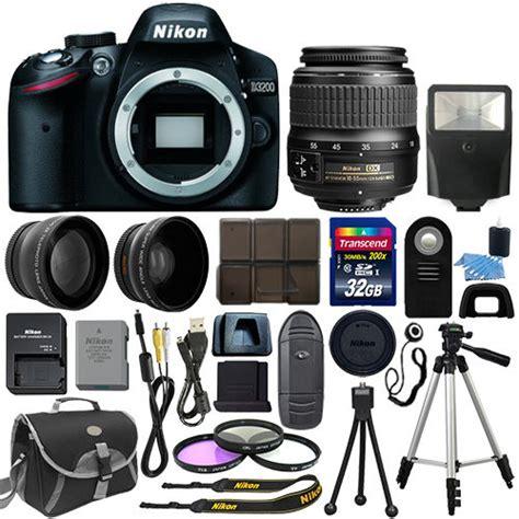 nikon 3200 best price deal nikon d3200 w 3 lens kit 32gb for 399