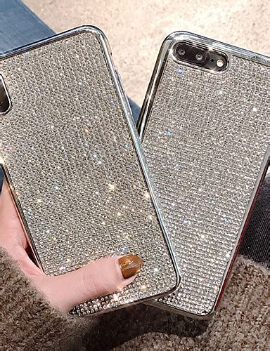 cisic for apple iphone xr iphone xs max shockproof water resistant rhinestone back