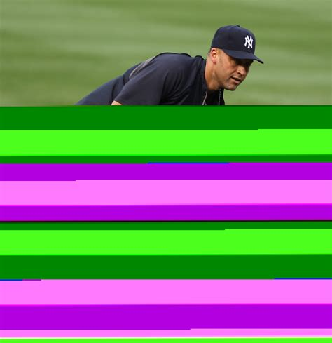 Jeters At It Again by Minor Setback New York Yankees Derek Jeter On Disabled