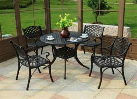 25 best ideas about metal patio furniture on