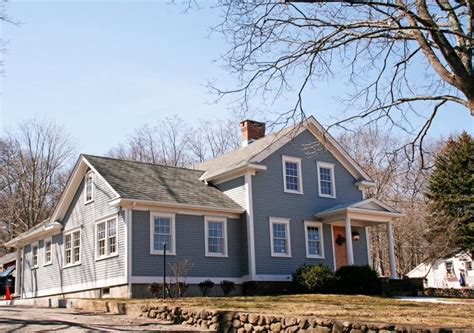 Homes With Porches 19th Century Farmhouse Exterior Gail Hallock Architect