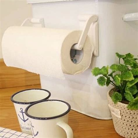 bathroom napkin holder roll paper towel holder magnetic bathroom fridge napkin