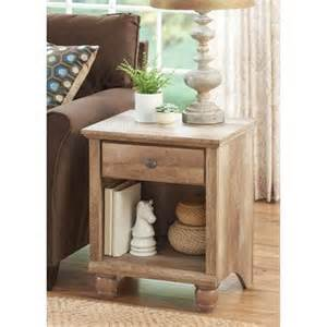 better homes and gardens crossmill collection end table