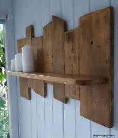 upcycled pallet wood shelf pallet ideas recycled