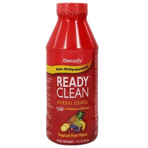 Detoxify Detox Ready Clean Reviews by Detoxify Ready Clean Herbal Cleanse Tropical 16 Fl Oz