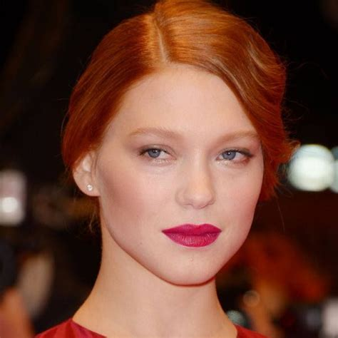 lea seydoux natural hair color 10 images about makeup for redheads gingers and orange