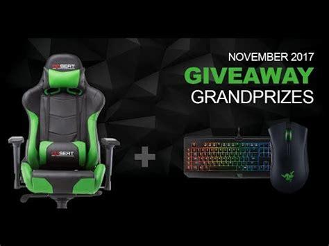 Razer Giveaway - opseat gaming chair giveaway razer bundle youtube