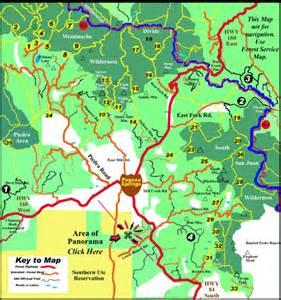 map of pagosa springs colorado car interior design
