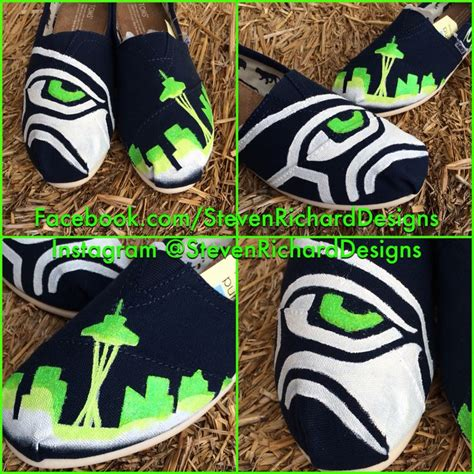 Handmade Shoes Seattle - 17 best images about seahawks shoes on