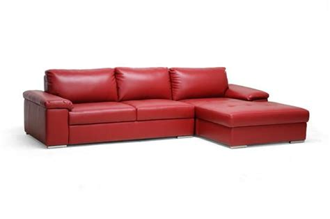 red chaise lounge sofa modern red leather designer chaise lounge 2 piece